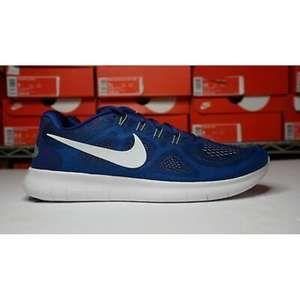 Nike Free RN 2017 880839-401 Size 11.5 Blue Green